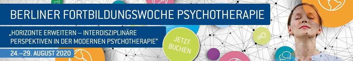 Berliner Fortbildungswoche Psychotherapie