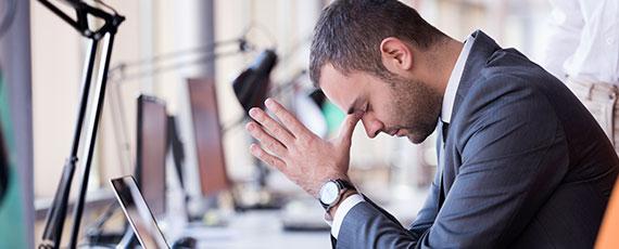 Gegen Stress bei der Arbeit