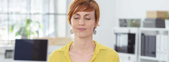 Meditation am Mittag